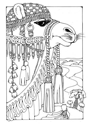 Раскраски страницу Camel