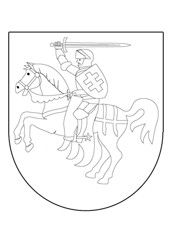 comcoloring page coat of arms