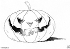 Coloring pages Pumpkin