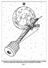 Coloring page 07 Crew Exploration Vehicle