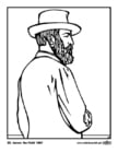 Coloring page 20 James Garfield