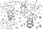 Coloring pages 2a autumn