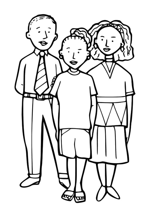 Coloring page 3 children