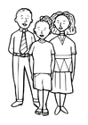 Coloring pages 3 children