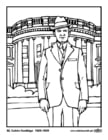 Coloring pages 30 Calvin Coolidge
