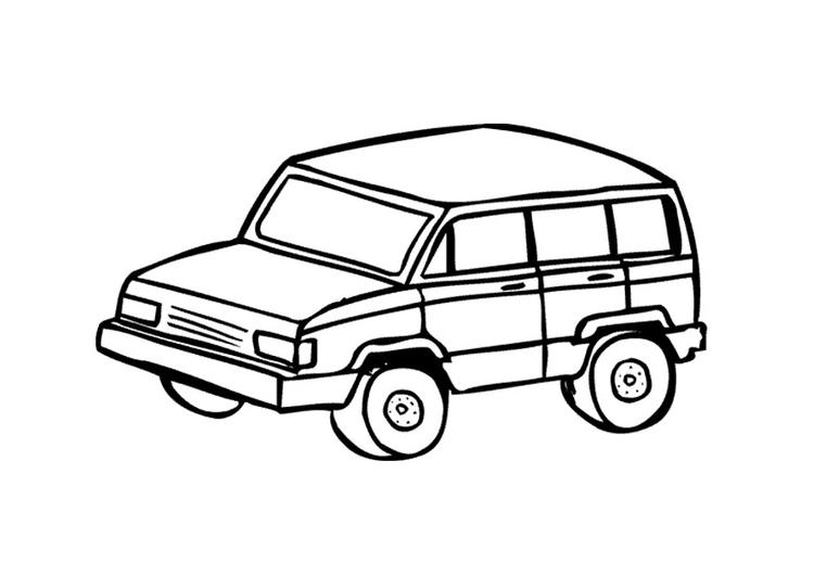 Coloring page 4 x 4