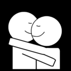 Coloring pages a hug