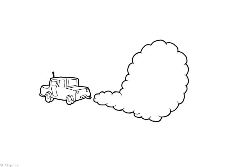 Coloring page Air pollution - img 14405.