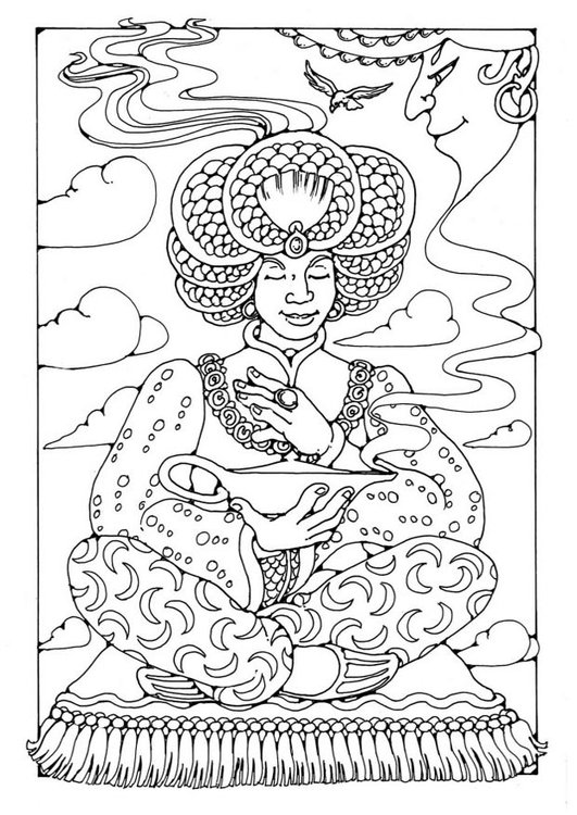Coloring page Aladdin