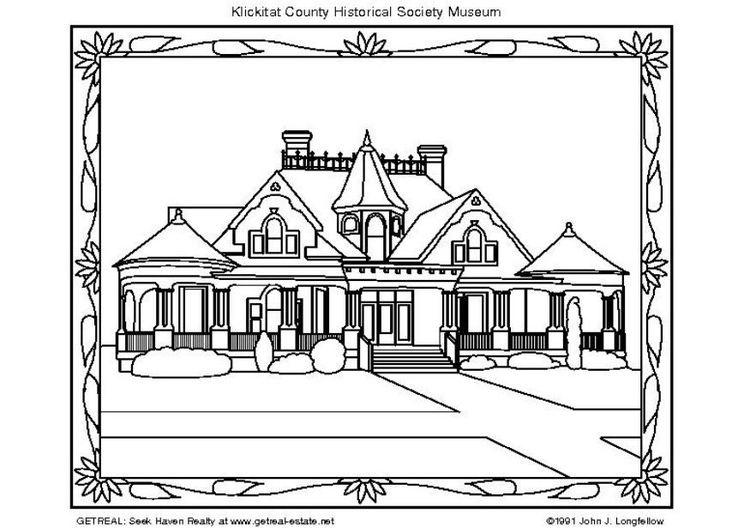 Coloring page American Museum