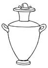 Coloring page Amphora