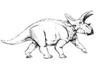 Coloring pages anchiceratops