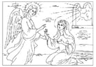 Coloring pages New Testament