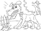 Coloring pages Kea coloring pages