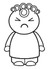 Coloring pages angry