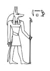 Coloring pages Ancient Egypt