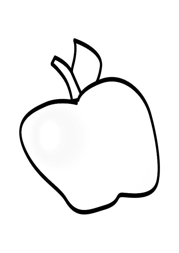 Coloring page apple - img 19144.