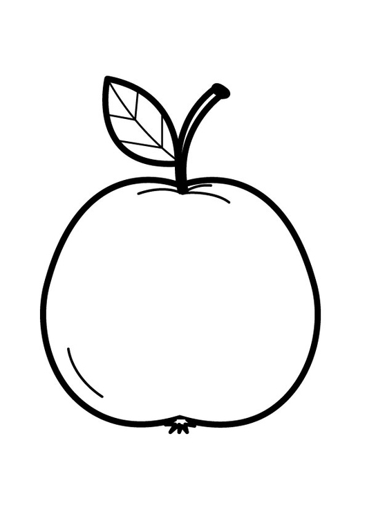 Coloring page apple - img 23173.