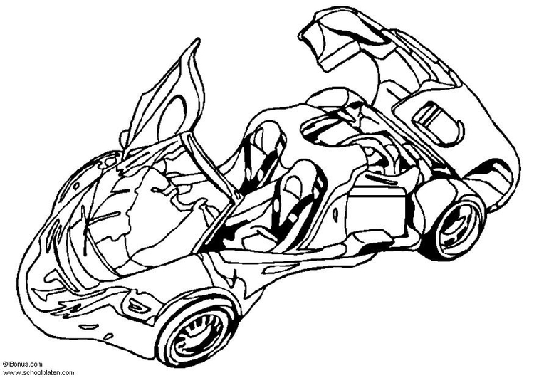 Coloring page Arex Showcar