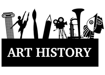 Coloring page art history