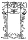 Coloring pages Frames