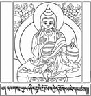 Coloring pages Asanga