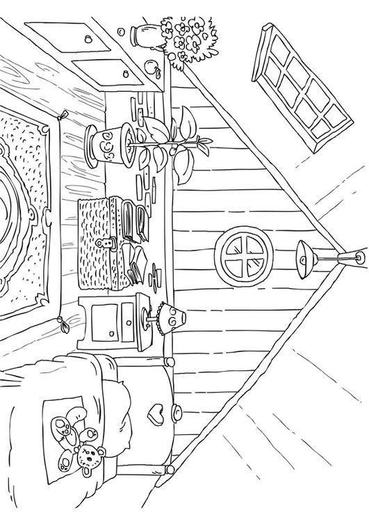 Coloring Page Attic Img 26226