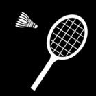 Coloring pages badminton