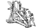 Coloring pages ballista