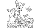 Coloring pages Bambi