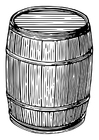 Coloring pages barrel