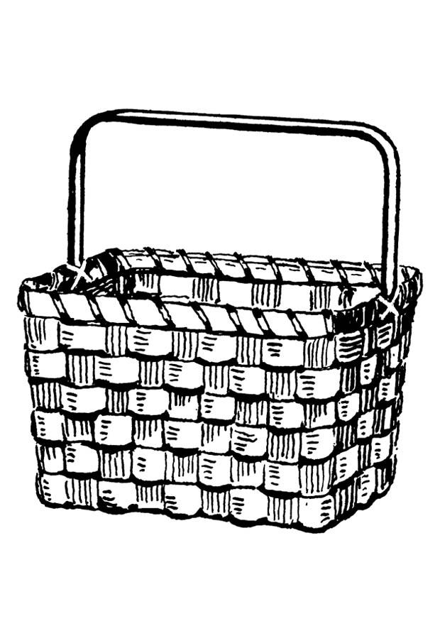 coloring page basket img 18911