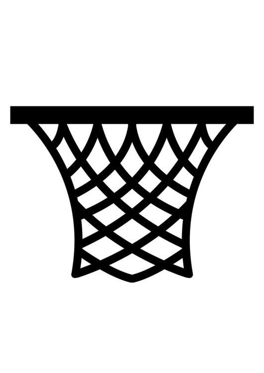 Coloring Page Basket Img 26216