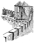 Coloring pages battlement