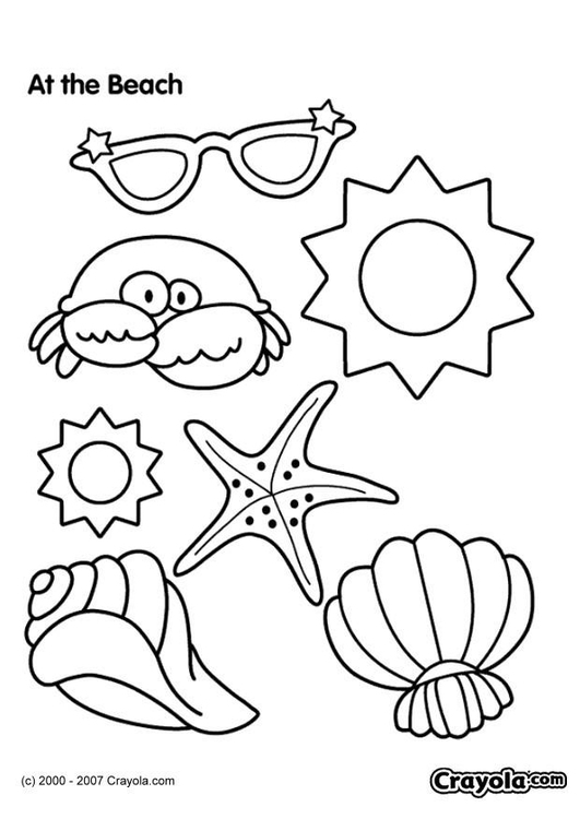 Coloring Page Beach - Free Printable Coloring Pages - Img 7832