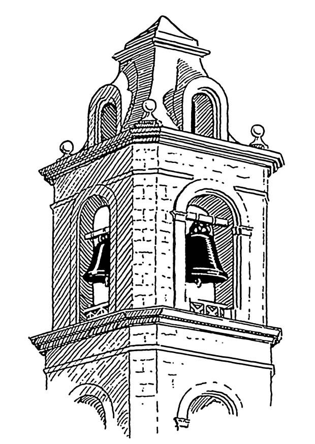 church bells coloring pages - photo#47