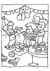 Coloring pages Birthday