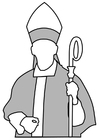 Coloring pages bishop
