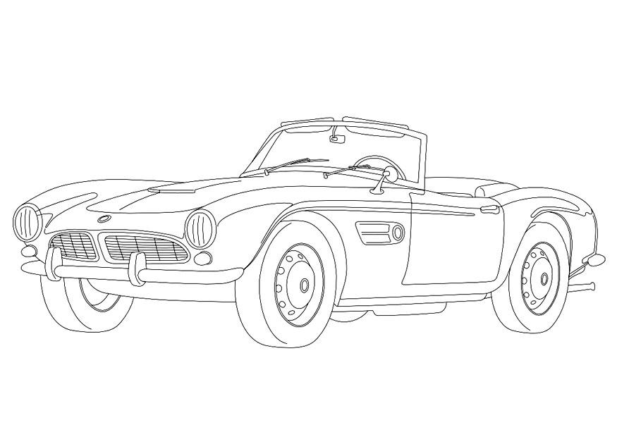 Coloring Page Bmw 507 Img 9957