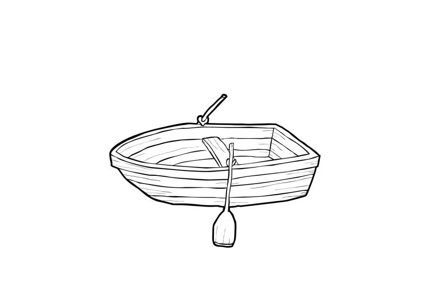 Boat Coloring Page - GetColoringPages.com | 605x872