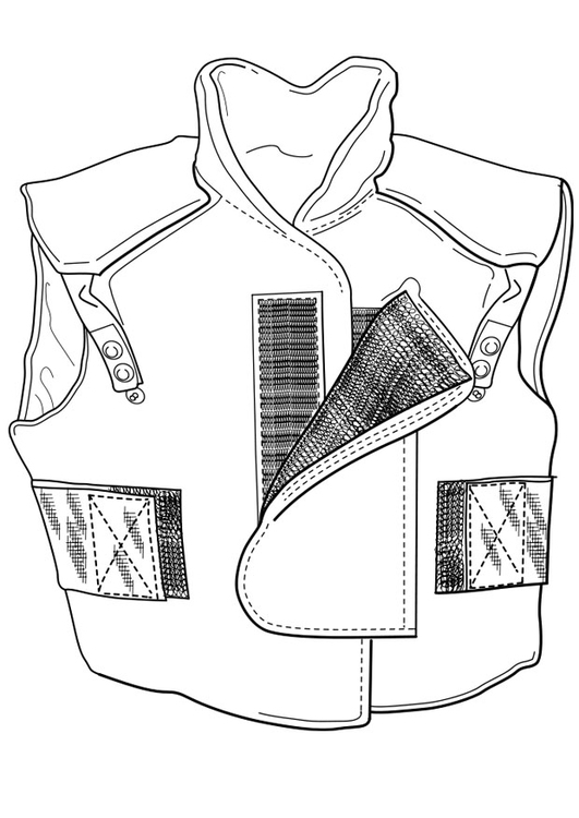 Coloring page body warmer