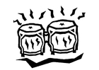 Coloring pages bongos 2