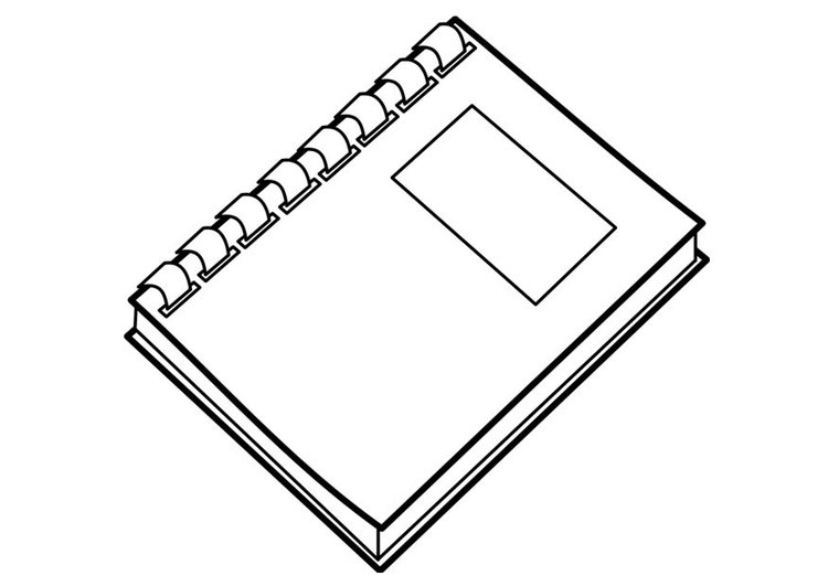 Coloring page book - img 18737. Images