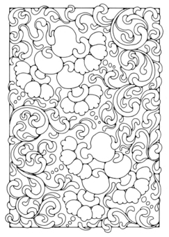 Coloring page bouncy bells