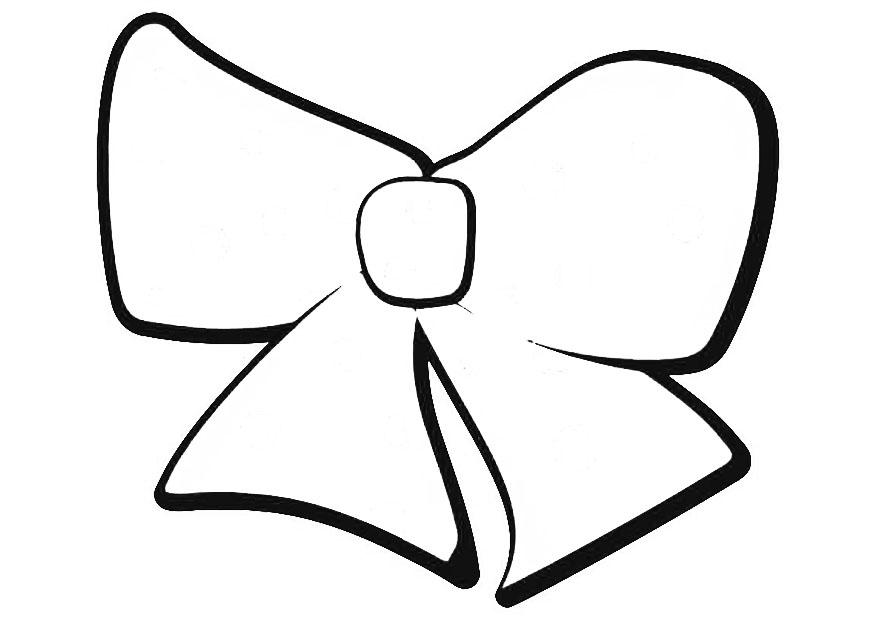 Coloring page bow img 19409