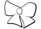 Coloring pages bow