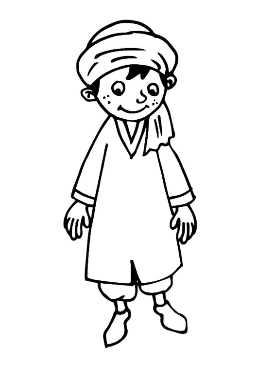 coloring page boy free printable coloring pages
