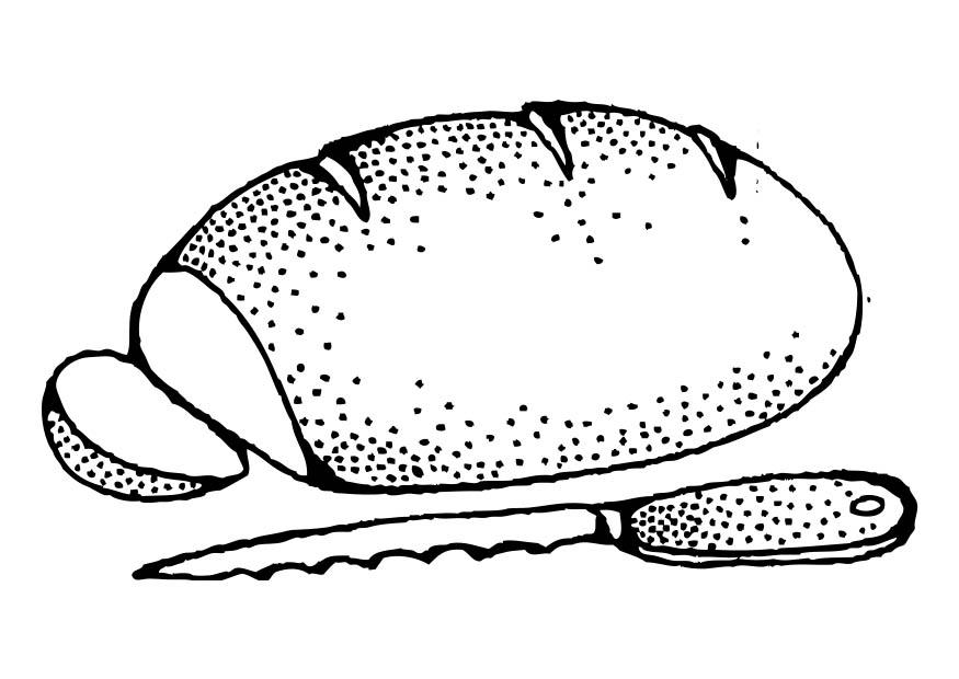 Coloring page Bread  img 17333