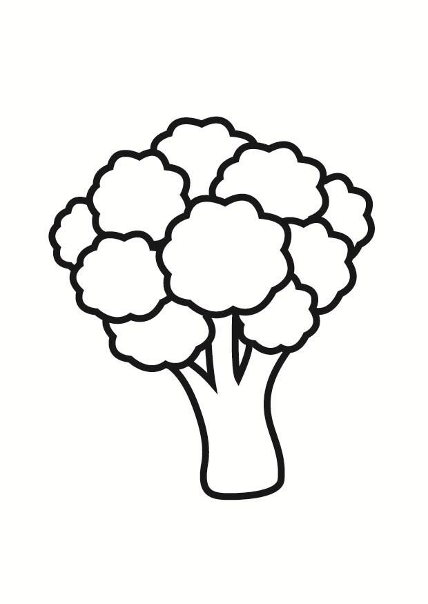 22+ Broccoli Coloring Page