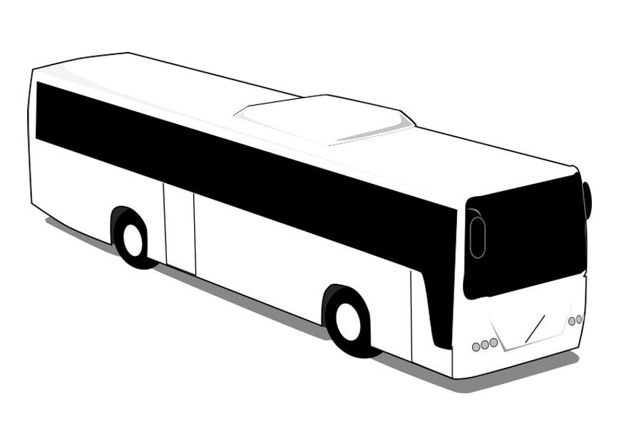 Coloring page bus - img 28013.
